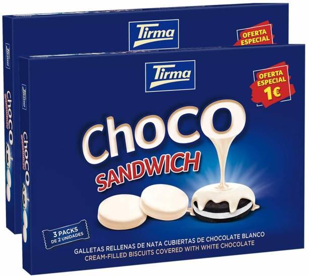 tirma Choco Sandwich White Bars