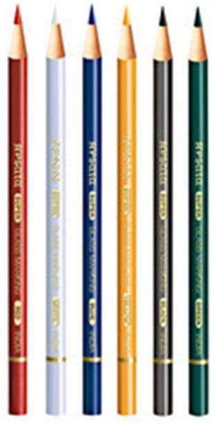 Apsara GLASS PENCILS ROUND Shaped Color Pencils