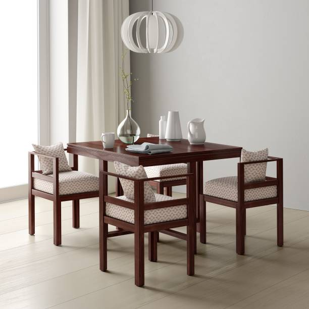 Flipkart Perfect Homes Solid Wood 4 Seater Dining Set