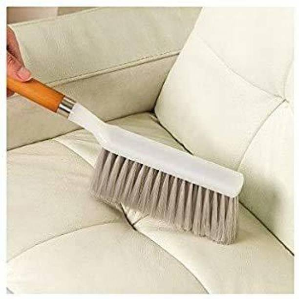 VEPIKZONE Sofa, car, carpet cleaning brush with long hard bristles Wet and Dry Duster