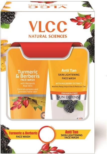 VLCC Turmeric & Berberis + Anti Tan  (2 x 150ml) Face Wash