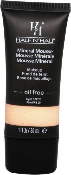 Half N Half Mineral Mousse oil FreeLight SPF 20-04 Ivory Foundation