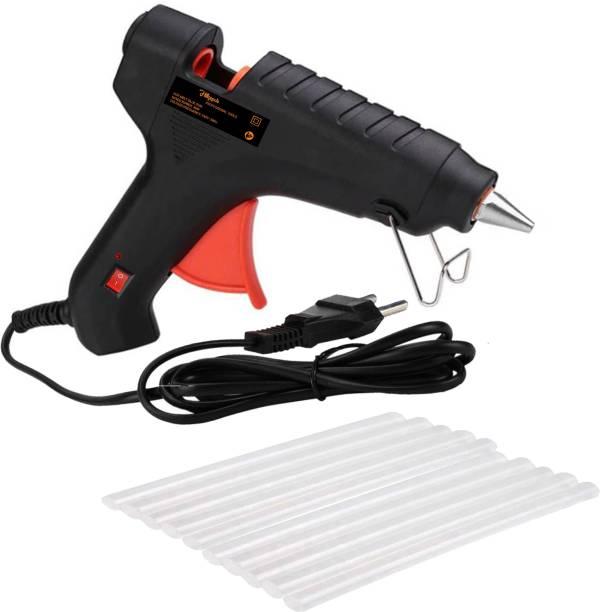 Hillgrove Hot Gum Glue Gun With 10 Pcs Standard Temperature Corded Glue Gun