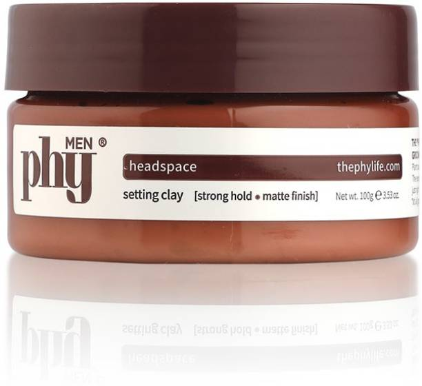Phy Headspace Setting Clay - Strong Hold, Matte Finish - For All Hair Types Hair Clay