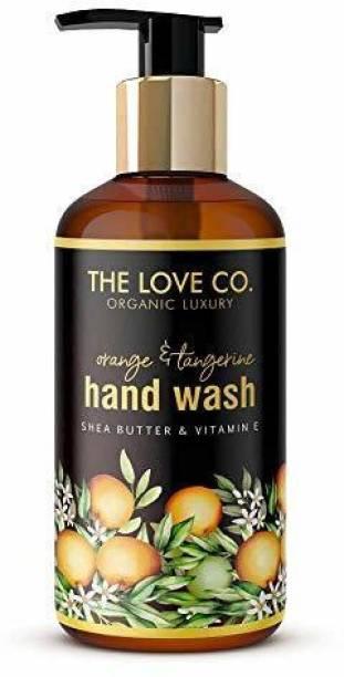 The Love Co. Hand wash Multi Flavour Pack (Orange & Tangerine) Hand Wash Bottle