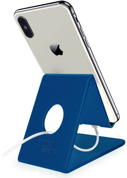 Gizga Essentials G32 Anodized Aluminium Mobile Phone Stand for All Tablet and Smartphones Mobile Holder