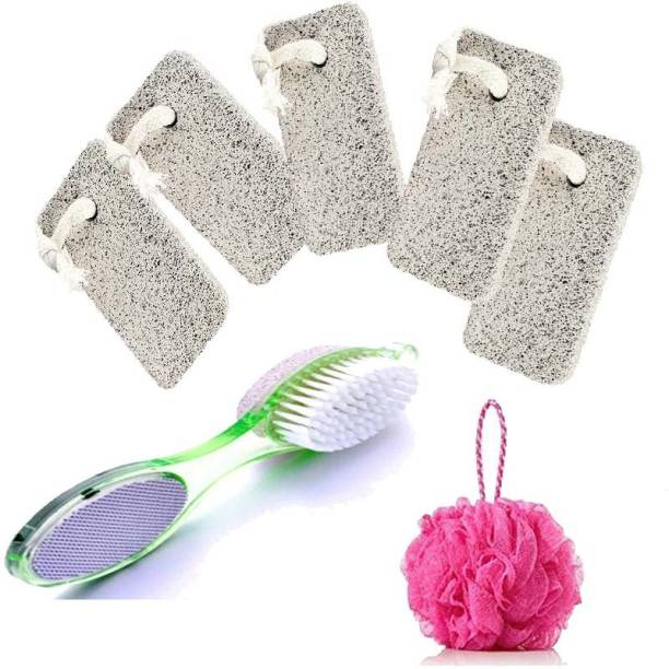 batwada export Pumice Stone / 4in1 Scrubber / Loofah For Body Care