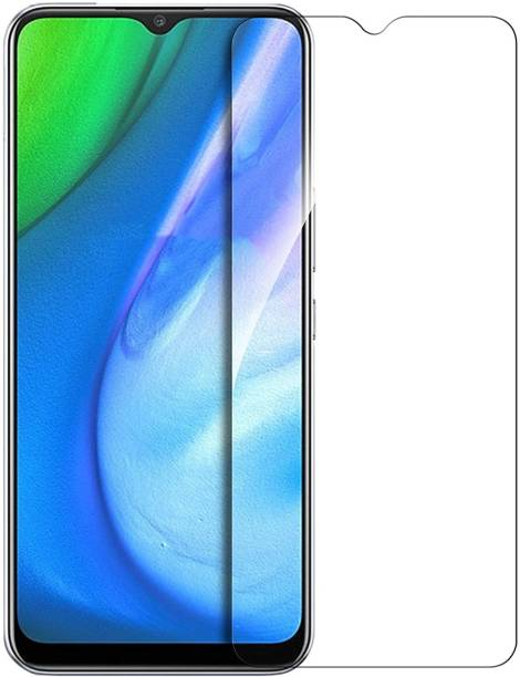 ISAAK Tempered Glass Guard for Realme 5, Realme X2 Pro, Realme C3, Realme 6i, Realme Narzo 10, Realme Narzo 10a, Realme C11, Realme C15, Realme Narzo 20a, Realme Q2i, Realme Narzo 30a