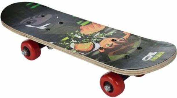 S.V.Enterprises Mini Skateboard Ben 10 Finger Board Skate Boarding Kit 3.5 inch x 17 inch 3.5 inch x 17 inch Skateboard