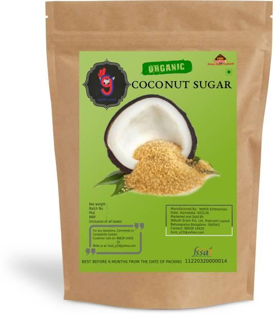 99Auth Coconut Premium High Quality Pure nariyal Sugar Zero Mixing Pure No Adulteration 100g Sugar
