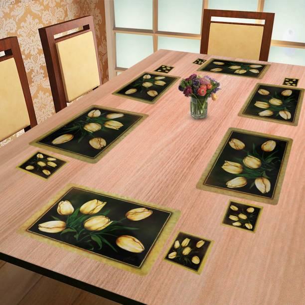 E-Retailer Multicolor Polyester Table Linen Set