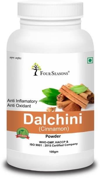 Four Seasons Cinnamon Powder (Dalchini Powder) 100 gm ,pack of 1