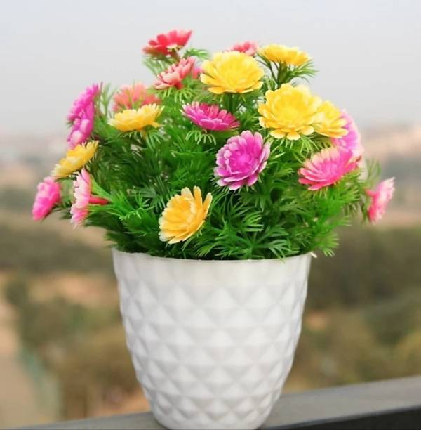 shanol Artificial Plant  with Pot
