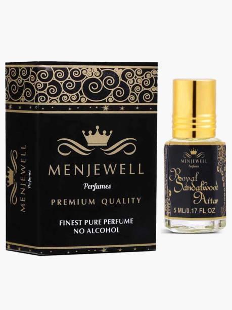 Menjewell Royal Sandalwood Long Lasting Attar/ Perfume Floral Attar