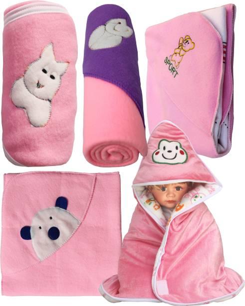 My New Born Cartoon Crib Crib Baby Blanket