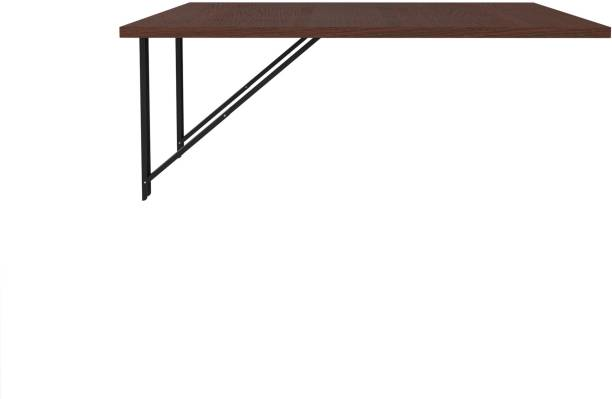 Auspicious Home Ray Wall mounted 3 Seated Dining Table Engineered Wood 2 Seater Dining Table