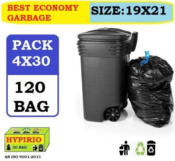 hypirio 19x21 ( 120 bag) Medium 12 L Garbage Bag