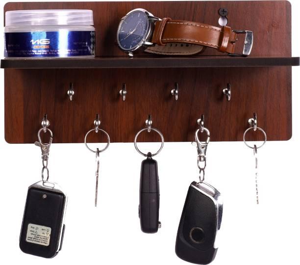 POCKESTER Modern Wood Key Holder