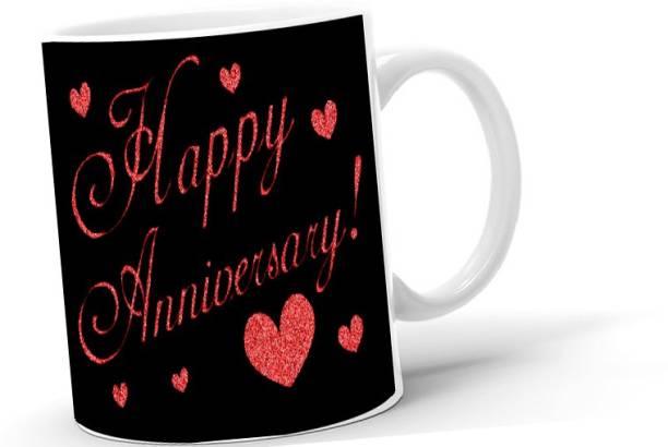 Lifedesign Happy Anniversary - Gifting/Self Use Coffee - 2021M26 Ceramic Coffee Mug