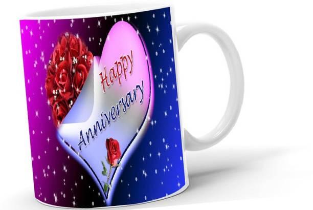 Lifedesign Happy Anniversary - Gifting/Self Use Coffee - 2021M52 Ceramic Coffee Mug