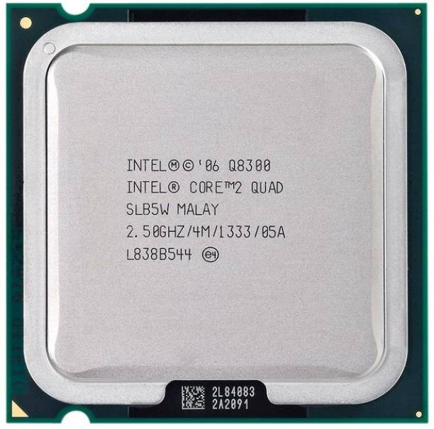 Intel Q8300 LGA 775 2.5 GHz LGA 775 Socket 4 Cores Desktop Processor