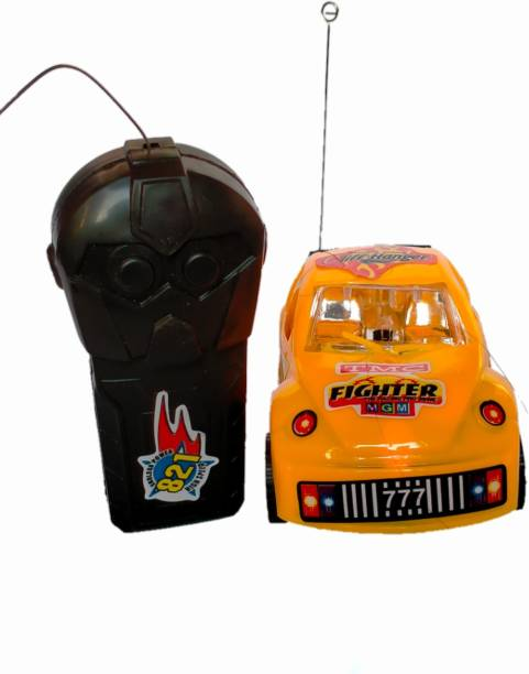 "Shriganpati Toys 3D Lightning Unversal""s Crazy Challenger Cliff Hanger Remote Control Car"