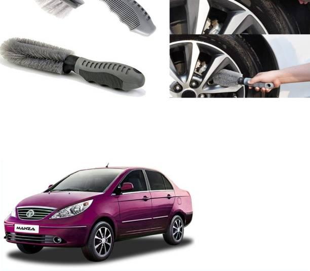Ushergy Car tyre brush 2pcs CTB-304 2 Wheel Tire Cleaner