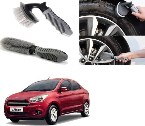 Ushergy Car tyre brush 2pcs CTB-482 2 Wheel Tire Cleaner