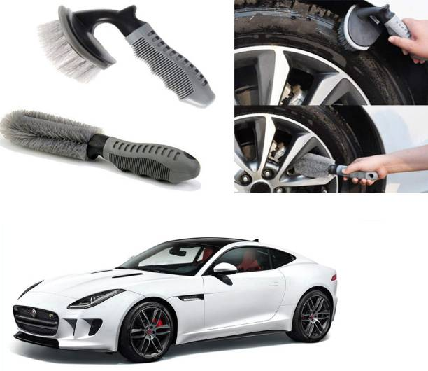Ushergy Car tyre brush 2pcs CTB-59 2 Wheel Tire Cleaner