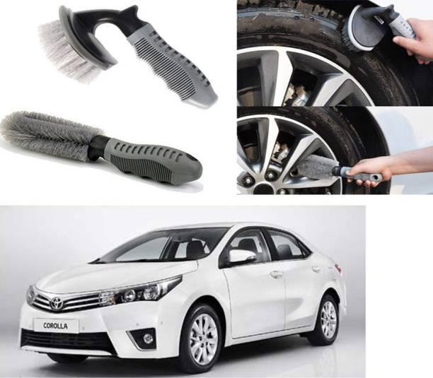 Ushergy Car tyre brush 2pcs CTB-199 2 Wheel Tire Cleaner