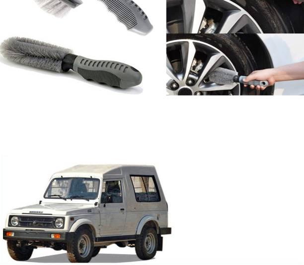 Ushergy Car tyre brush 2pcs CTB-131 2 Wheel Tire Cleaner
