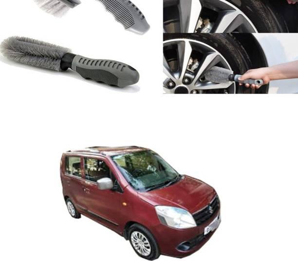 Ushergy Car tyre brush 2pcs CTB-402 2 Wheel Tire Cleaner