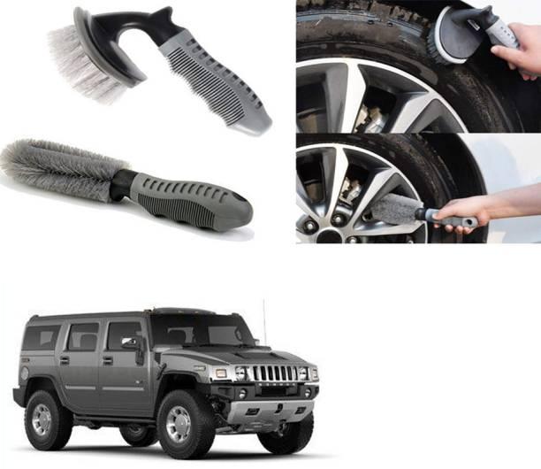Ushergy Car tyre brush 2pcs CTB-519 2 Wheel Tire Cleaner