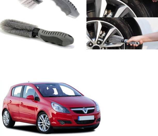 Ushergy Car tyre brush 2pcs CTB-236 2 Wheel Tire Cleaner