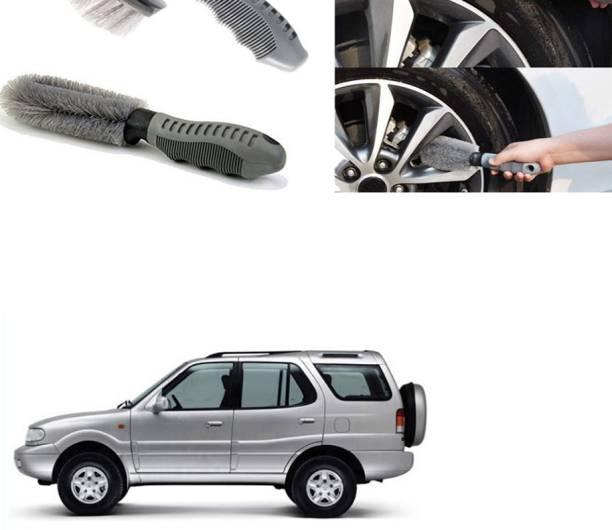 Ushergy Car tyre brush 2pcs CTB-310 2 Wheel Tire Cleaner