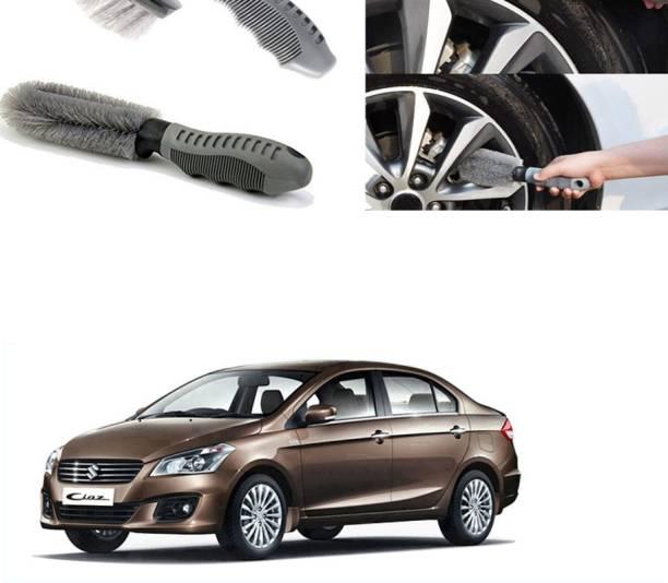 Ushergy Car tyre brush 2pcs CTB-123 2 Wheel Tire Cleaner