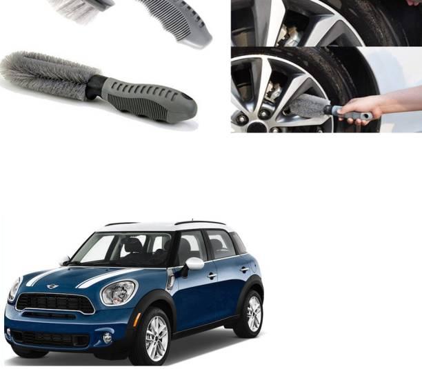 Ushergy Car tyre brush 2pcs CTB-204 2 Wheel Tire Cleaner