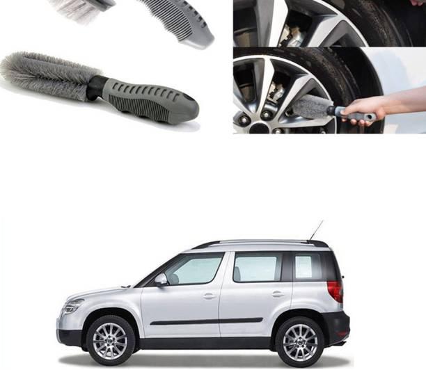 Ushergy Car tyre brush 2pcs CTB-274 2 Wheel Tire Cleaner