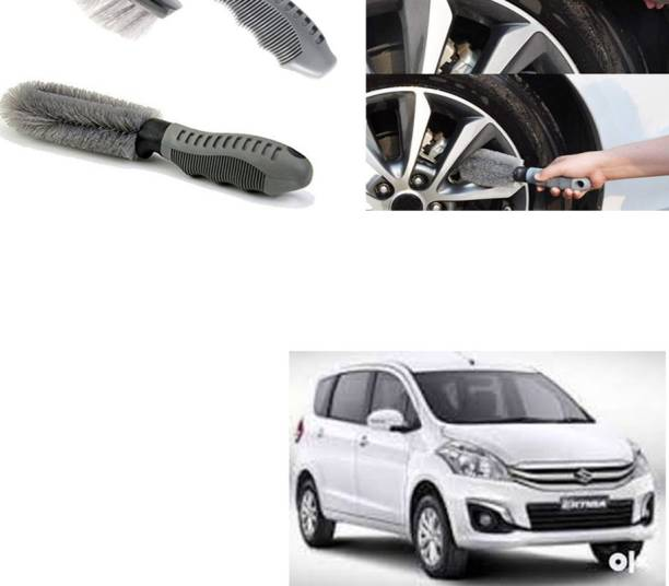 Ushergy Car tyre brush 2pcs CTB-125 2 Wheel Tire Cleaner