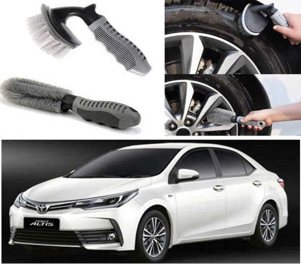 Ushergy Car tyre brush 2pcs CTB-428 2 Wheel Tire Cleaner