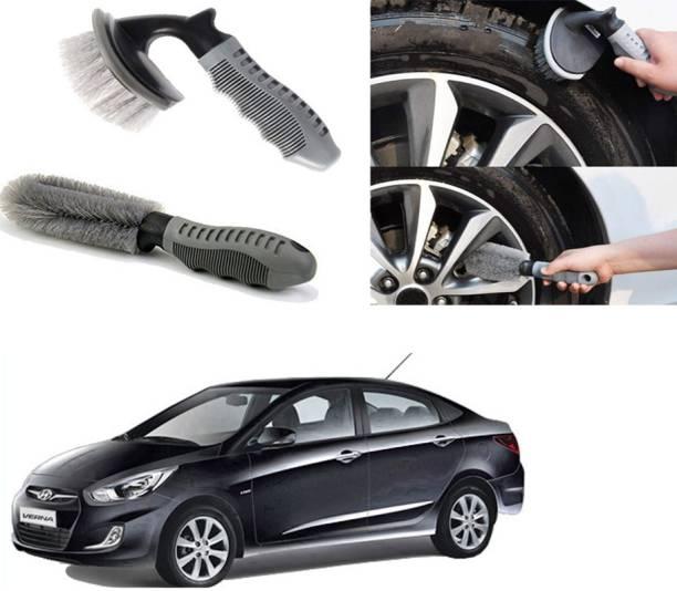 Ushergy Car tyre brush 2pcs CTB-24 2 Wheel Tire Cleaner