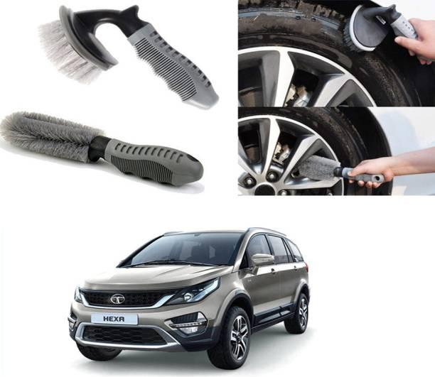 Ushergy Car tyre brush 2pcs CTB-494 2 Wheel Tire Cleaner
