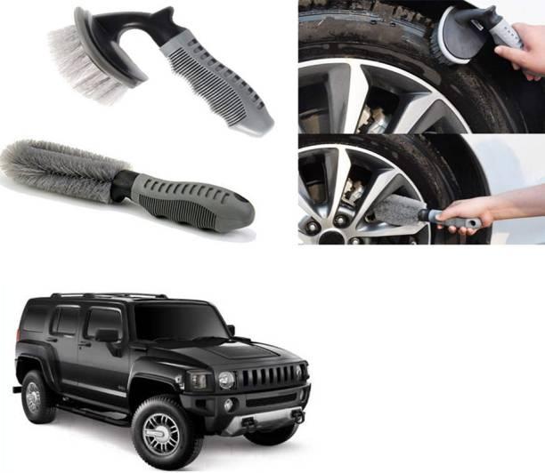 Ushergy Car tyre brush 2pcs CTB-521 2 Wheel Tire Cleaner