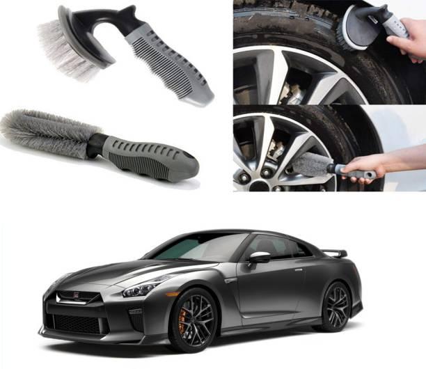 Ushergy Car tyre brush 2pcs CTB-492 2 Wheel Tire Cleaner