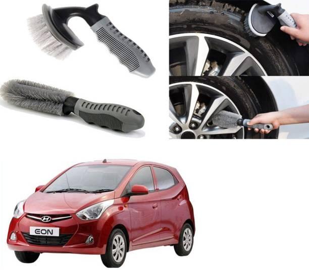 Ushergy Car tyre brush 2pcs CTB-526 2 Wheel Tire Cleaner