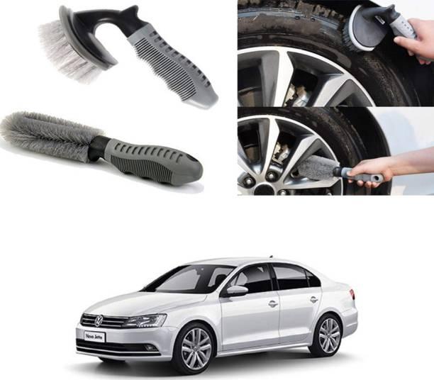 Ushergy Car tyre brush 2pcs CTB-64 2 Wheel Tire Cleaner