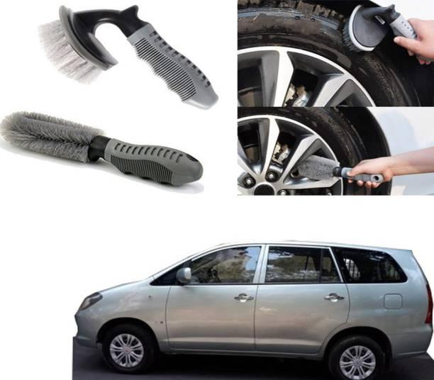 Ushergy Car tyre brush 2pcs CTB-50 2 Wheel Tire Cleaner