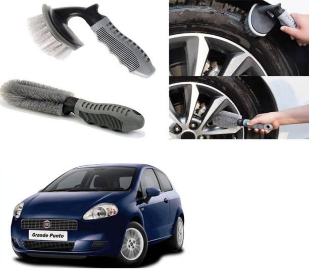 Ushergy Car tyre brush 2pcs CTB-243 2 Wheel Tire Cleaner