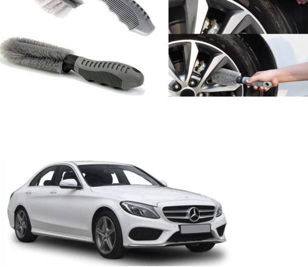 Ushergy Car tyre brush 2pcs CTB-194 2 Wheel Tire Cleaner