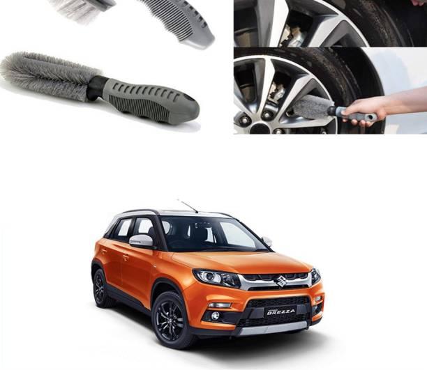 Ushergy Car tyre brush 2pcs CTB-369 2 Wheel Tire Cleaner